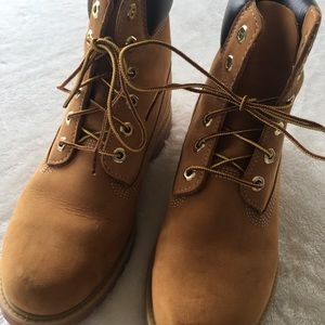 WORN ONCE Timberlands